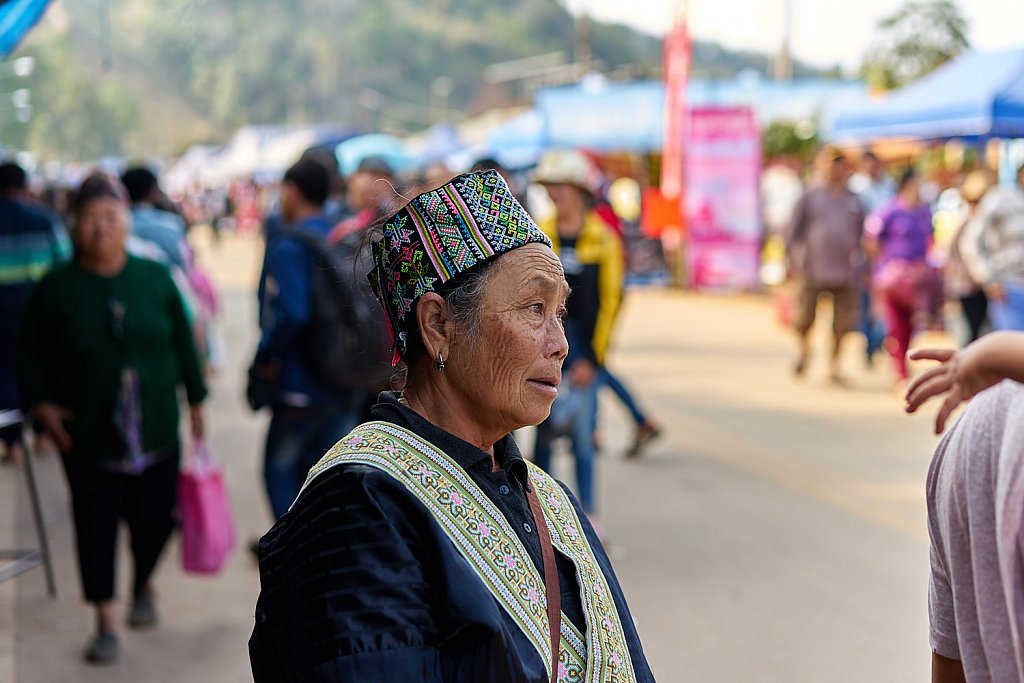 Man of the Hmong tribe
