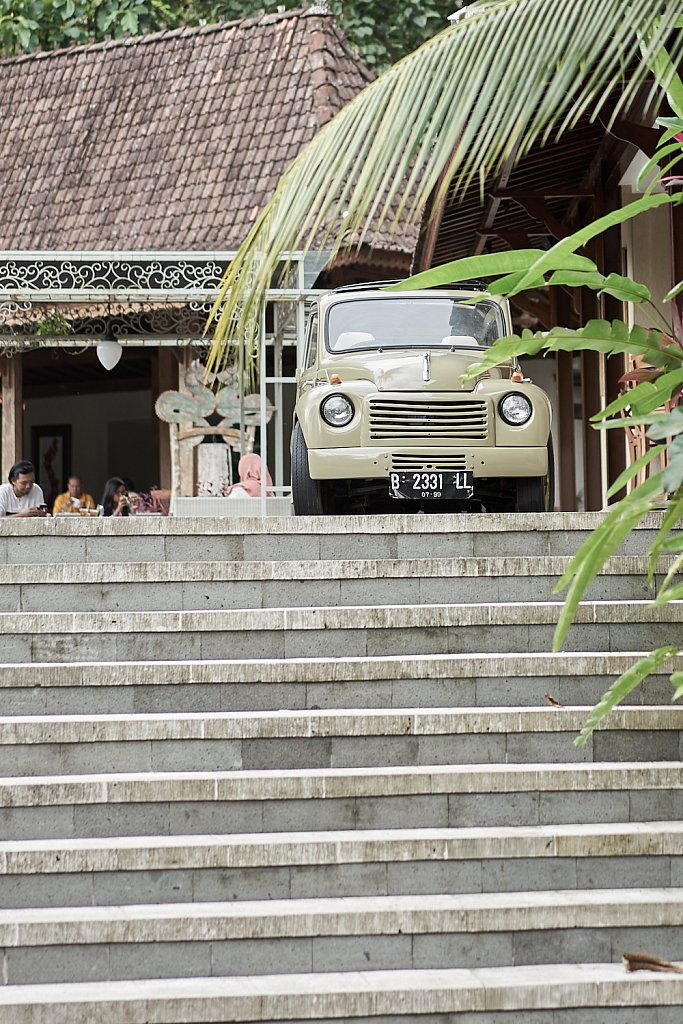 Old Fiat in Indonesia